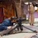 Scene being filmed